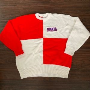 Other - Vintage New York Giants Knit Sweater Rare